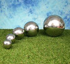 Edelstahlkugeln poliert Durchmesser 2,5 - 25 cm B - Ware!
