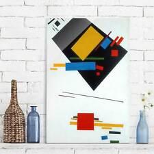 Glasbild Kunstdruck Kasimir Malewitsch Suprematische Malerei Hoch 3:2 Kunst Glas