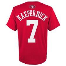 "Colin Kaepernick NFL San Francisco 49ers ""Mainliner"" Jersey T-Shirt Youth (S-XL)"