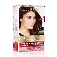 L'Oreal Paris Excellence Creme Hair Color, Shade 316 Burgundy, 72ml+100g