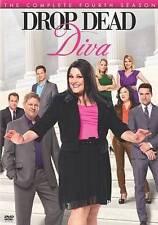 Drop Dead Diva The Complete Fourth Season (DVD, 3-Disc Set)