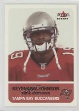 2002 Fleer Tradition Tiffany #100 Keyshawn Johnson Tampa Bay Buccaneers Card