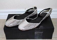New Super Suite Seventy Seven 77 Cobra Snake Skin Women's Shoes Sandals Flats