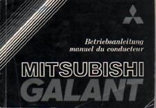 MITSUBISHI GALANT 4  Betriebsanleitung  1981 Bedienungsanleitung Handbuch    BA