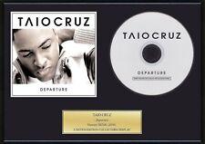 TAIO CRUZ - Framed CD Presentation Disc Display