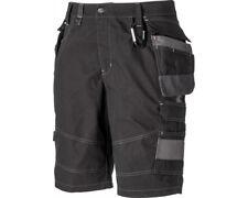 "Dickies Eisenhower Premium Work Cargo Shorts Ripstop Cordura Black 30 to 48"""