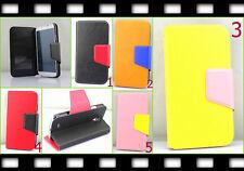 Flip Tasche Brief Etui Case Samsung GALAXY S4 Klapp Schutz hülle Cover Folie