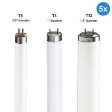 5 x T5 / T8 / T12 Fluorescent Tubes 2ft 3ft 4ft 5ft 6ft 8ft 827 830 835 840 865