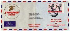 1965 POSTA AEREA ITALIANA ETIOPIA ETHIOPIAN AIRLINES AFRICA-EUROPA 8/4 B/4474