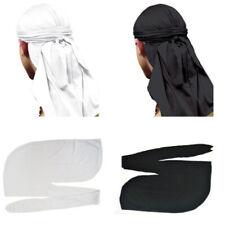 New Fashion Men Wave Cap Sport Hip Hop Doo Rag Skull Hat Headscarf Headwrap
