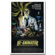 RE-ANIMATOR Classic Vintage Movie Silk Poster 13x20 24x36 inch