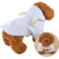 Cappottino cappuccio caldo inverno vestito lana maglione maglioncino cane gatto