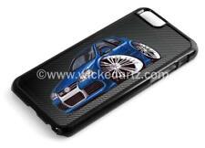 WickedArtz Cartoon Car Volkswagen VW Golf MK5 R32 iPhone 4/5/6/7 Case/Cover