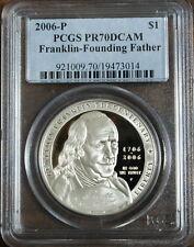 2006 P Franklin-Founding Father Dollar PCGS PR-70 DCAM