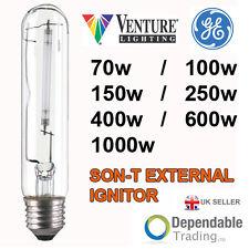 BRANDED 70w 100w 150w 250w 400w 600w SON-T E27 ES /E40 GES EXTERNAL IGNITOR LAMP
