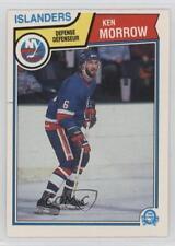 1983-84 O-Pee-Chee #13 Ken Morrow New York Islanders Hockey Card