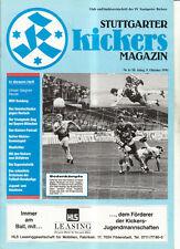 BL 91/92 Stuttgarter Kickers - MSV Duisburg