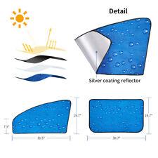 2Pc/1 Set Car Window Car Sun Shade Auto Windshield Sunshades Universal Fit Y9A1