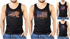 Estados unidos vigas T-Shirt-Stars and Stripes t-shirt-estados unidos motivo bandera señores T-Shirt