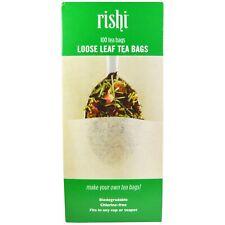 Rishi Tea Loose Leaf Tea Filter Bags - 100-count