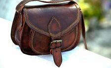 Vintage Bag Leather Messenger Women Purse Tote Handbag Satchel Cross body Bag