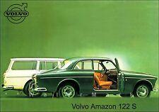 VOLVO Amazon 122S SWEDEN Vintage Poster Print Swedish Car Advertisement