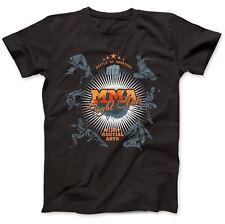 MMA Mixed Martial Arts T-Shirt 100% Premium Cotton Combat Judo Jujitsu