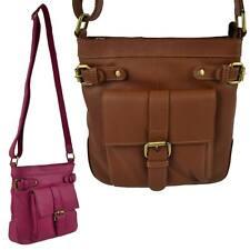 f4e38057 Ladies Soft LEATHER Cross Body Shoulder BAG by Bolla Bags Classic Handbag