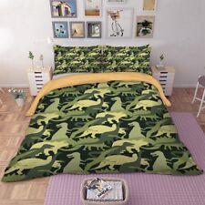 Dinosaur Photographic Bedding Set Duvet Quilt Cover Set Queen King Twin Full new