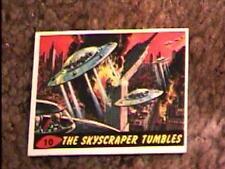MARS ATTACKS #10 TRADING CARD 1962 TOPPS