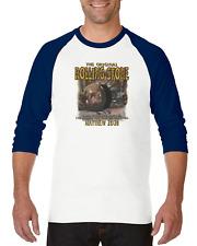 Gildan Raglan T-shirt 3/4 Sleeve Christian Resurrection Orignial Rolling Stone