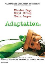 Adaptation - Nicolas Cage, Meryl Streep, Chris Cooper DVD Region 1 New / SEALED