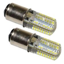2-Pack 110V LED Light Bulb Cool White for Bernina 530-1015 Models Sewing Machine