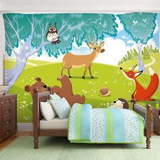 Tapete kinderzimmer tiere  Kinderzimmer-Fototapeten Tiere | eBay