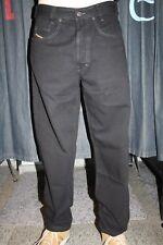 Diesel Jeans Saddle black schwarz neu Karottenschnitt 100% Baumwolle