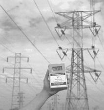 60/50 Hz EMF/ELF magnetic tester: gaussmeter/teslameter