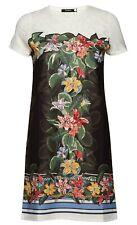 Desigual VEST NATALIE 19SWVK44 robe courte femme fleurs coloris noir 2000