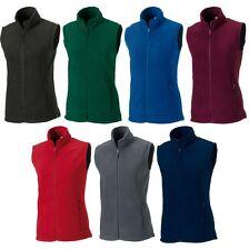 Ladies Women Russell Outdoor Fleece Sleeveless Gilet Top