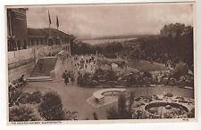 Pavilion Rockery - Bournemouth Photo Postcard c1920