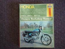 Haynes Service Manual for 1977 CB250 & CB400 TWINS