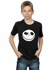 Disney niños Nightmare Before Christmas Jack's Big Face Camiseta
