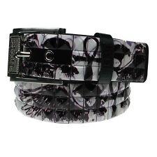 Rimovibile Buckle JEANS Wear adulto Fashion Cintura 40mm UK Venditore borchiata a piramide