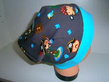 ♥Neu-Handmade♥Piraten♥Beanie♥ Mütze♥Kindermütze♥KU 38-58♥Jungs♥Jersey♥