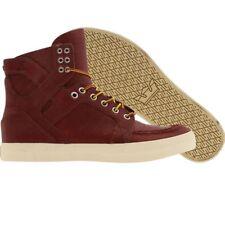 $150 New Supra x Skymoc Skytop burgundy premium skate fashion sneaker boots