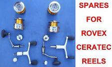 SPARES FOR ROVEX CERATEC CT4FD REELS 2000 3000 4000 6000 SPOOLS HANDLE SPOOL CAP