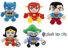 23CM GIFT SOFT PLUSH TOY DC COMICS THE FLASH BATMAN JOKER  SUPERMAN WONDERWOMAN