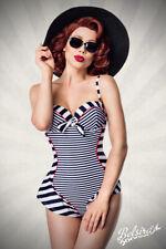 Retro Look Badeanzug Vintage Badeanzug Rockabilly 50er Retro Bademode S M L XXXL