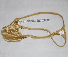 New Men's Mini Bikini Tangas Noble Shiny Spotrs Micro Thong Bulge Pouch G-string