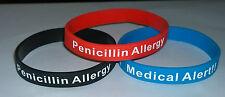 MEDICAL ALERT WRISTBAND/BRACELET FOR PENICILLIN ALLERGY