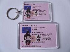 XENA WARRIOR PRINCESS Keyring or Fridge Magnet = ideal gift idea !!!!!!!!!!!!!